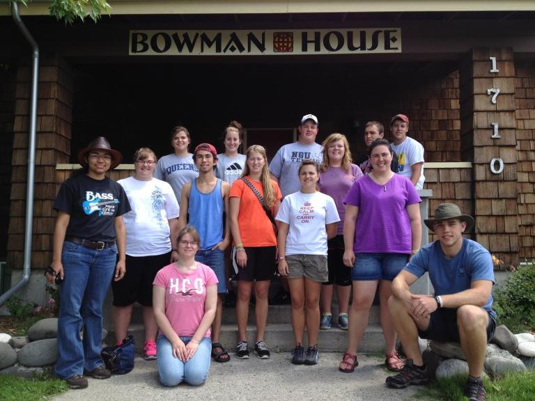 Montana Summer Missionaries 2012