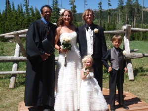 Wedding in Big Sky - Summer 2012